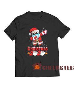 Christmas 2020 Toilet Paper T-Shirt Santa Claus Wear Mask Quarantine Size S-3XL