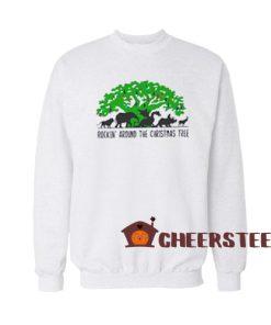 Disney Christmas Tree Sweatshirt Disney Animal Kingdom For Unisex