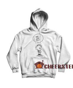 Calvin and Hobbes Stupid World Hoodie