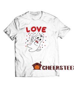 Cat Valentine Day T Shirt