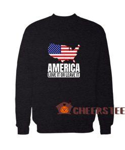 All American Dad Patriotic Sweatshirt
