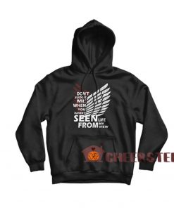 Attack On Titan Quote Hoodie