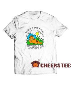 Garfield Cowboy T Shirt