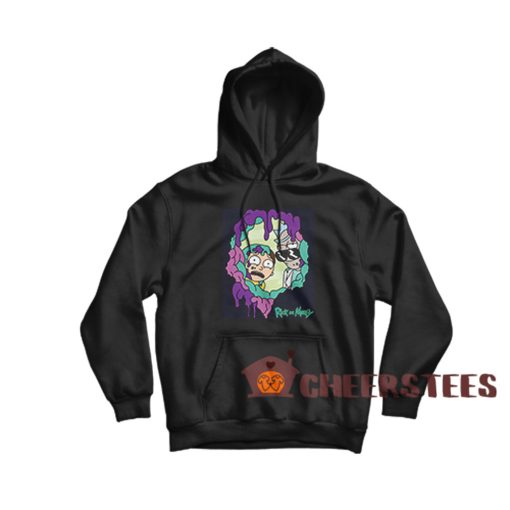 Rick And Morty Looking Through You Hoodie