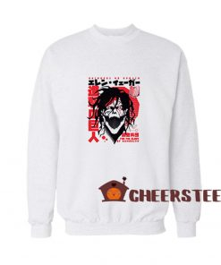 Get It Now! Shingeki No Kyojin Attack On Titan Sweatshirt, Shingeki No Kyojin Sweatshirt, Attack On Titan Sweatshirt Crewneck Design is Hypebeast cool shirt designs. Design Geek Graphic Tees for Mens or Womens in the United States. Designs with low price and with a very good quality only at Cheerstees.com